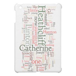 Wuthering Heights Word Cloud iPad Mini Case