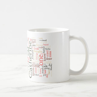 Wuthering Heights Word Cloud Classic White Coffee Mug