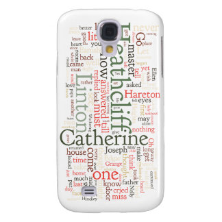 Wuthering Heights Word Cloud Samsung Galaxy S4 Cover