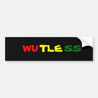 Wutless Bumper Sticker