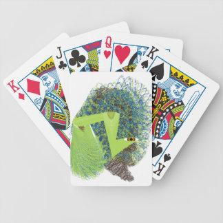 Wuzzy borroso baraja cartas de poker