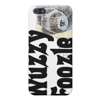 Wuzzy Foozle Spoonerism & Ferret Picture Case For iPhone SE/5/5s