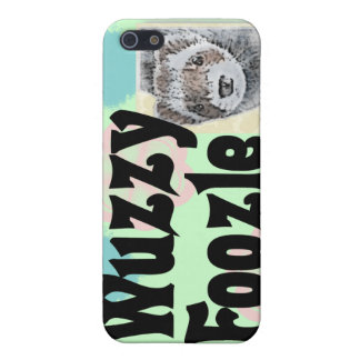 Wuzzy Foozle Spoonerism & Ferret Picture Cover For iPhone SE/5/5s