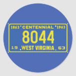 WV63 STICKERS