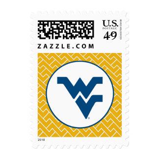 WV Blue Primary Mark Stamp