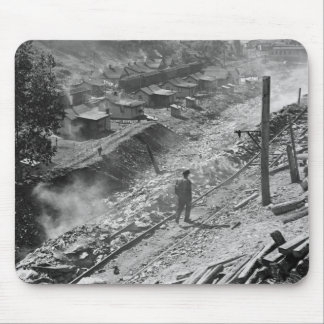 WV Coal Miner Town: 1935 Mouse Pad