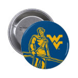 WV Mountaineer 2 Inch Round Button