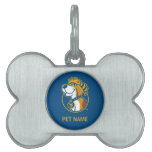 WV Mountaineer Youth Dog Pet ID Tags