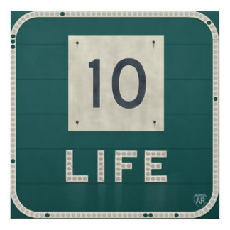 WV Route 10 Life Panel Wall Art