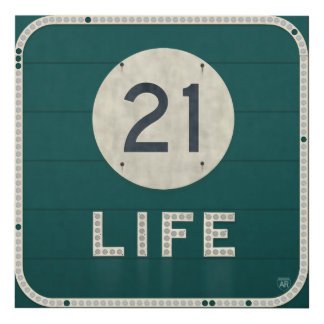 WV Route 21 Life Panel Wall Art