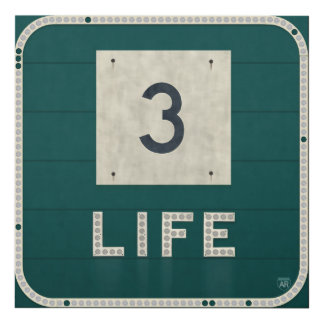 WV Route 3 Life Panel Wall Art
