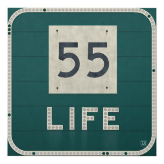WV Route 55 Life Panel Wall Art