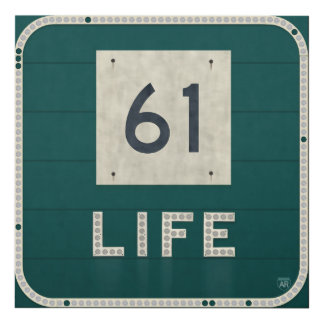 WV Route 61 Life Panel Wall Art