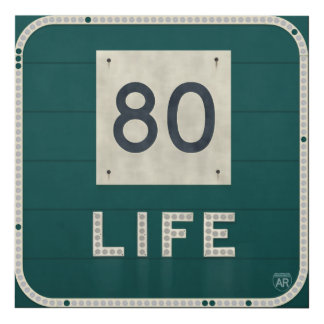 WV Route 80 Life Panel Wall Art