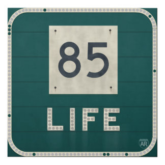 WV Route 85 Life Panel Wall Art