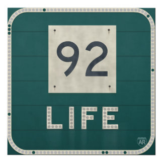 WV Route 92 Life Panel Wall Art