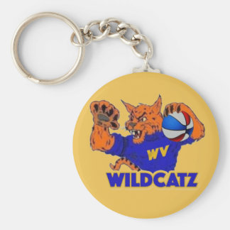 WV Wildcatz keychain