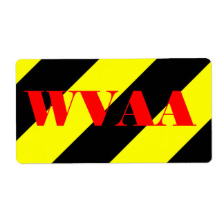 WVAA SHIPPING LABELS