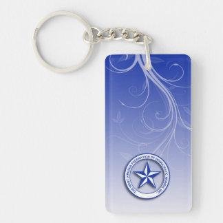 WVFDW Gradient Swirl Keychain