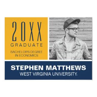 WVU Graduation Announcement