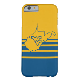 WVU in state of West Virginia Barely There iPhone 6 Case