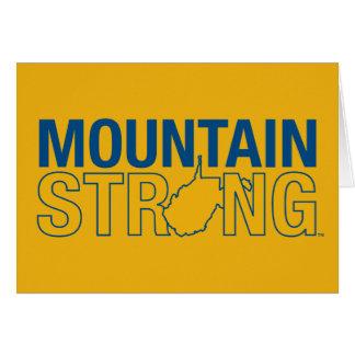 WVU Mountain Strong Card