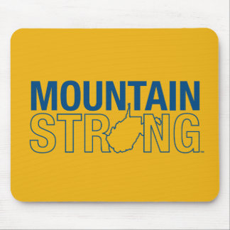 WVU Mountain Strong Mouse Pad