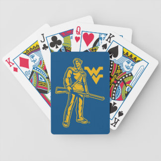 WVU Mountaineer Bicycle Playing Cards