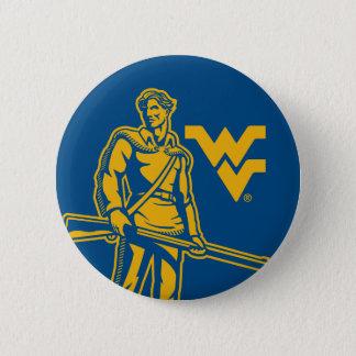 WVU Mountaineer Button