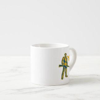 WVU Mountaineer Espresso Cup