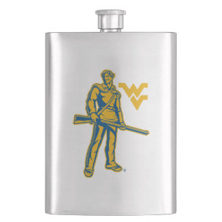 WVU Mountaineer Flask