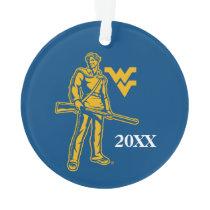 WVU Mountaineer Ornament