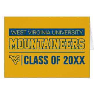 WVU Mountaineers Alumni Card