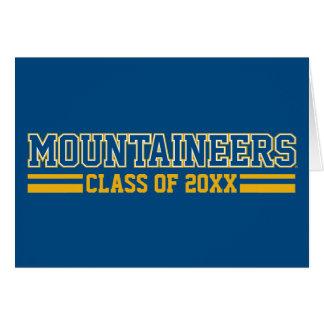 WVU Mountaineers Alumni Class Year Card