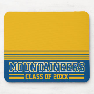 WVU Mountaineers Alumni Class Year Mouse Pad