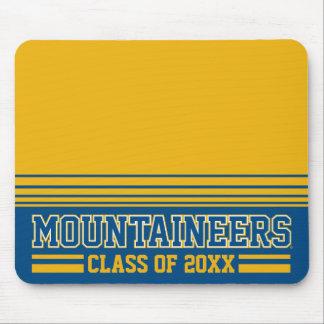 WVU Mountaineers Alumni Class Year Mouse Pad
