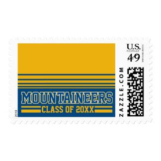 WVU Mountaineers Alumni Class Year Postage