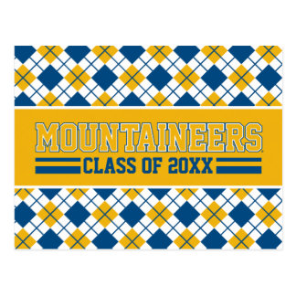 WVU Mountaineers Alumni Class Year Postcard