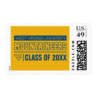 WVU Mountaineers Alumni Postage