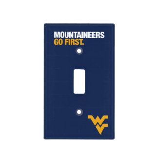 WVU Mountaineers Go First Light Switch Cover