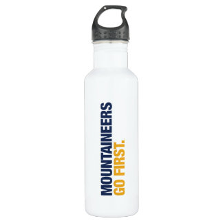 WVU Mountaineers Go First Water Bottle
