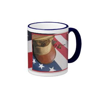 WW11 ARMY VET RINGER COFFEE MUG