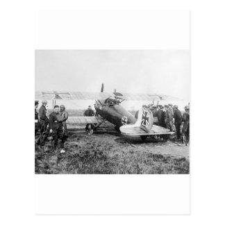 WW1 avión de combate alemán, los años 10 Postal