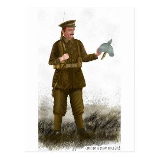 WW1 British 'Tommy' Postcard