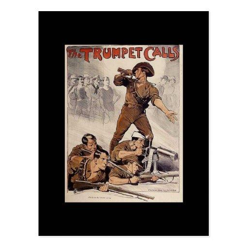 WW1 Collectors Card 1914 AUSTRALIA PROPAGANDA Post Card