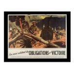WW1 Collectors Card 1914 CANADA PROPAGANDA Post Card
