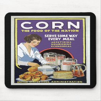 WW1 Food Administration Poster Mouse Pads