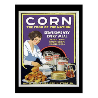 WW1 Food Administration Poster Post Card