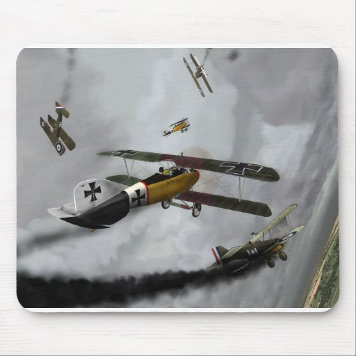 WW1 Furball Mouse Pads