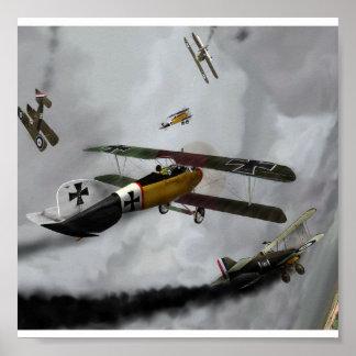 WW1 Furball Poster